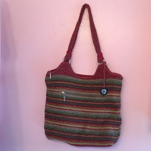 The Sak woven bag multi colored
